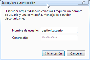 Login en Chrome
