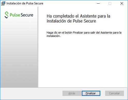 Conexión a Unican-i descargando la aplicación Pulse Secure
